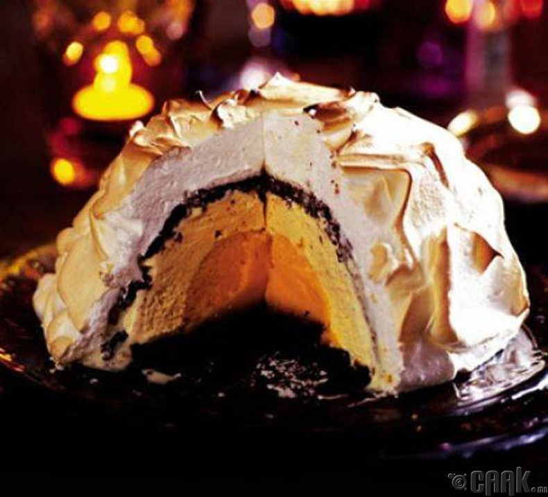 Аляска кремтэй бялуу