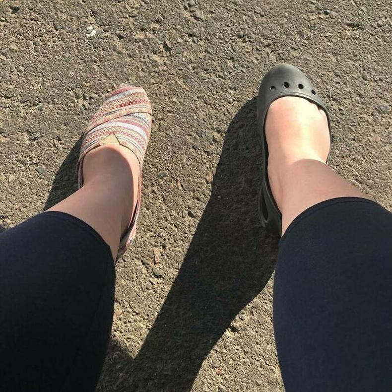 Өмсөж л байвал ямар ч гутал яахав дээ!