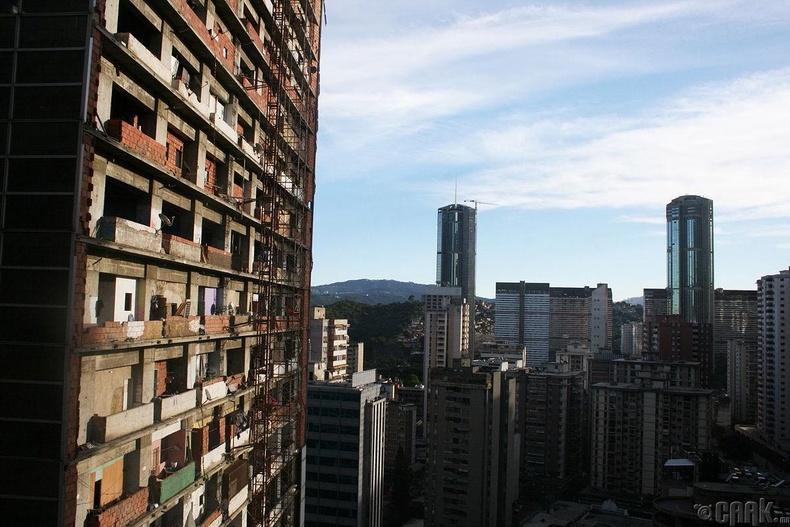 """""""Torre David"""" - Вэнэсуэл, 190метр, 45 давхар"""