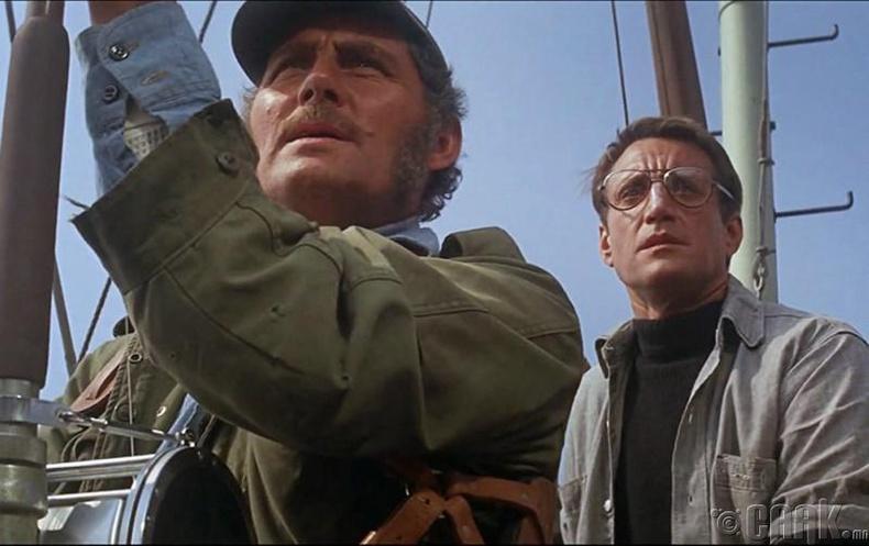 Роберт Шоу (Robert Shaw) болон Ричард Дрейфус (Richard Dreyfuss)
