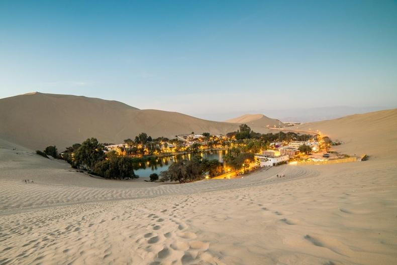 Перу дахь баянбүрд