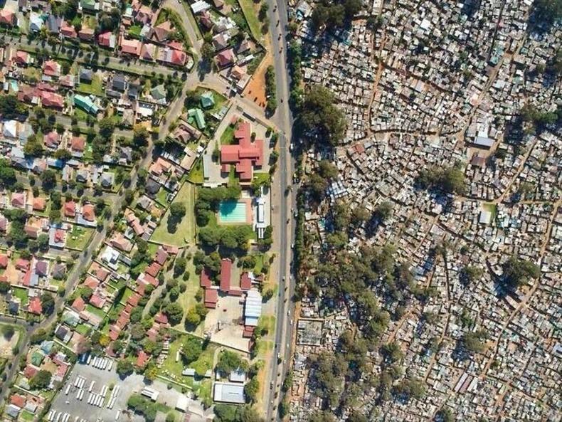 Баян ядуугийн ялгаа Өмнөд Африкт
