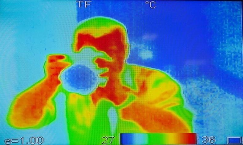 Зорчигчийн уурын түвшин буудлын камерт харагддаг