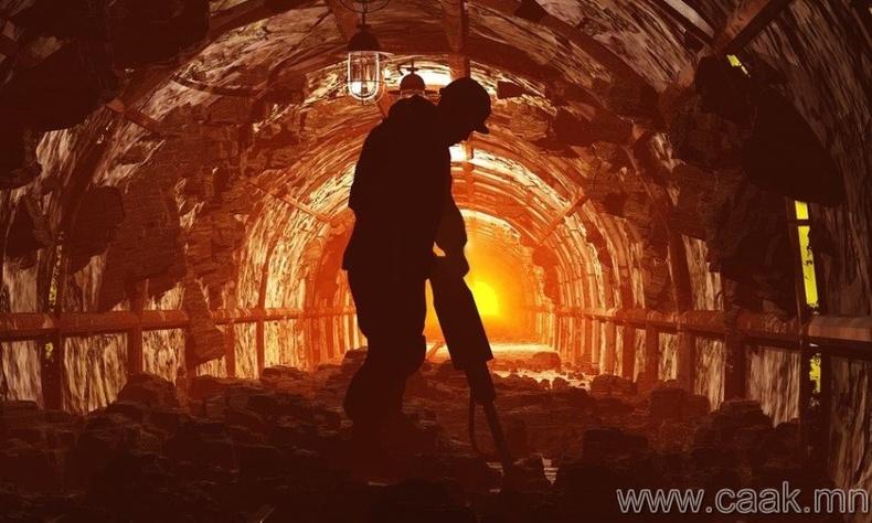 Нүүрсний уурхайчин