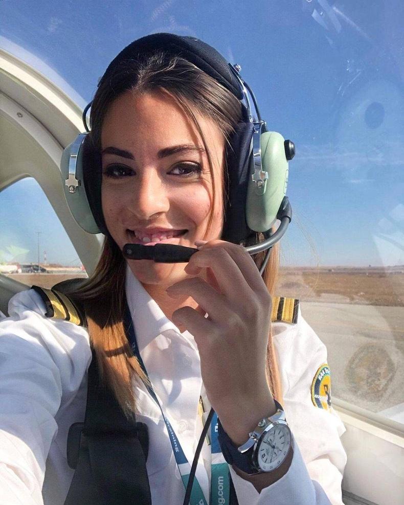 Ливан гаралтай Данийн нисгэгч Ная