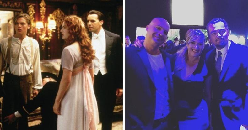 """Титаник""-ийн гол дүрүүдэд тоглосон Билли Зэйн, Кэйт Уинслет, Леонардо ди Каприо нар"