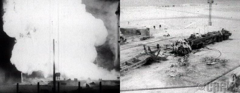 Байконур дахь осол (The disaster at Baikonur)
