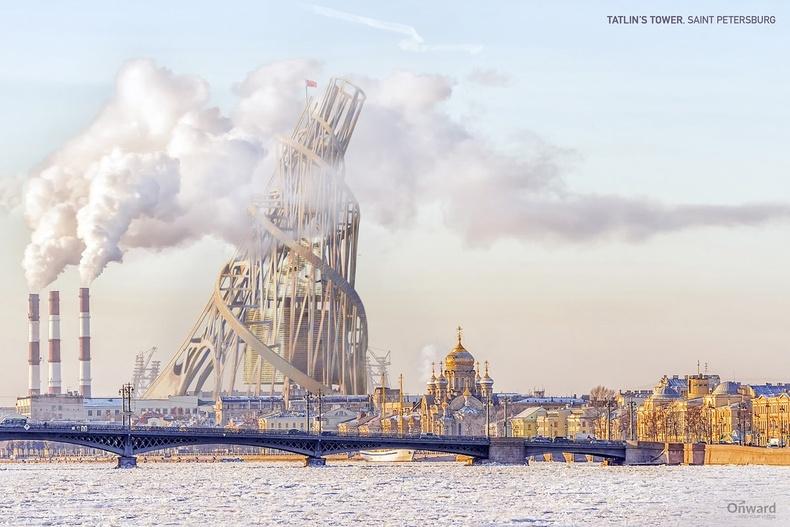 Татлины цамхаг, Санкт-Петербург