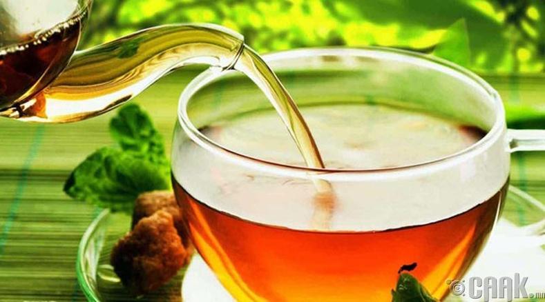 Ургамлын цай ууж, шимэгч хорхойг гадагшлуулах нь: