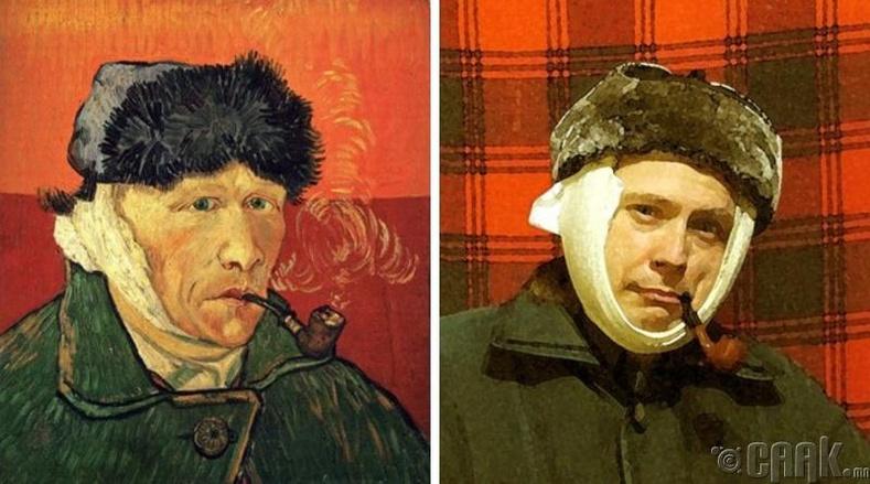 """Винсент Ван Гог (Vincent Van Gogh) """"Чихний боолт болон гаанстай хөрөг"""""""