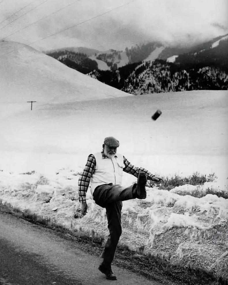 Эрнест Хемингвэй. 1959 он. АНУ