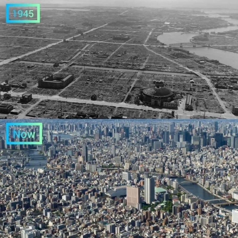 Токио, 1945 оноос өнөөг хүртэлх үе.