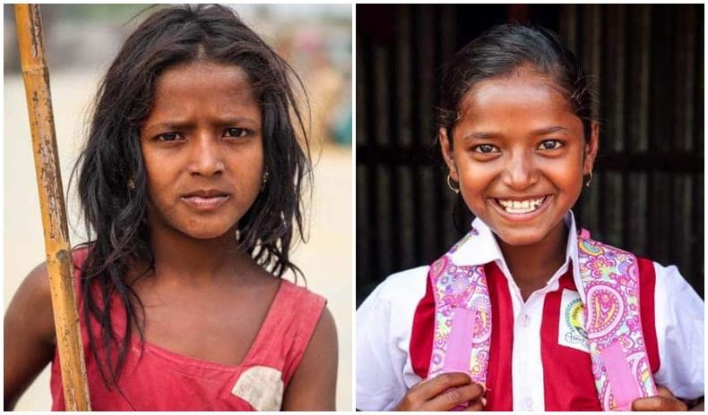 Ядуу айлын хүүхдүүдийг сургуульд оруулж өгдөг Бангладеш гэрэл зурагчны төсөл