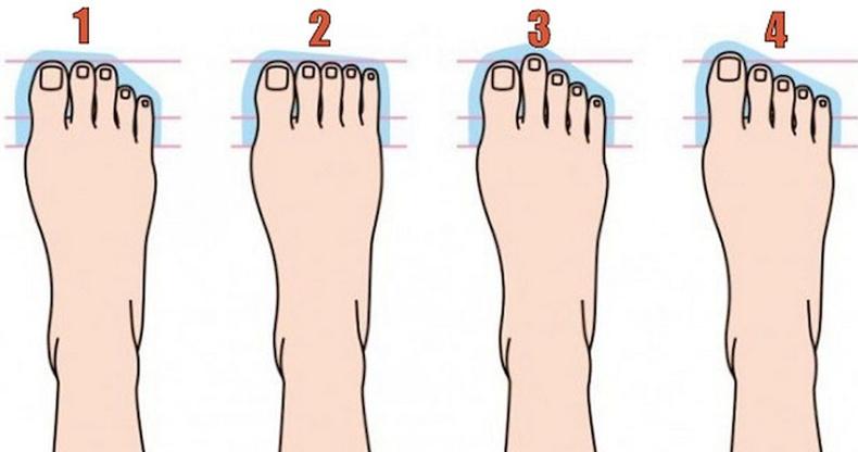 Хөлийн хуруугаар нь хэрхэн шинжих вэ?