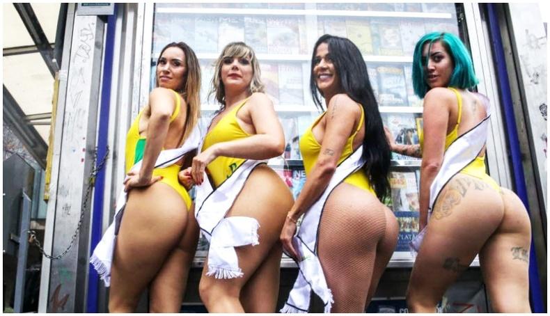 Бразилийн хамгийн сайхан өгзөгтэй бүсгүй шалгаруулах тэмцээн
