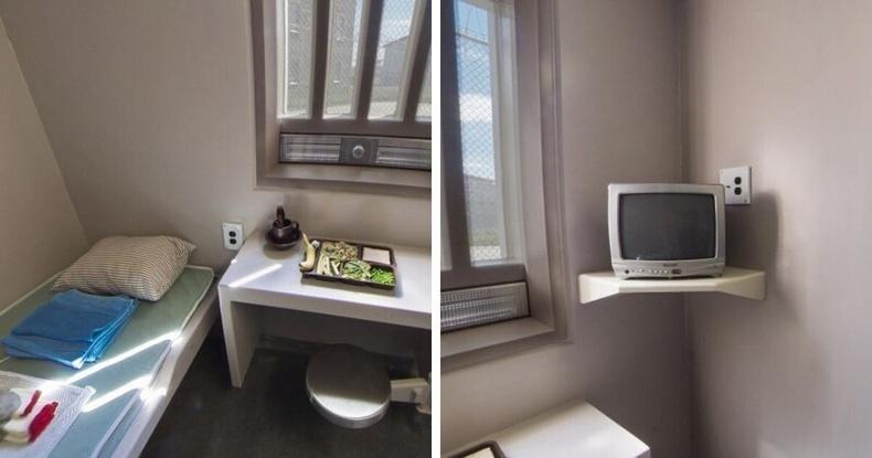 Чанга дэглэмтэй хорих газрын камер, Канад