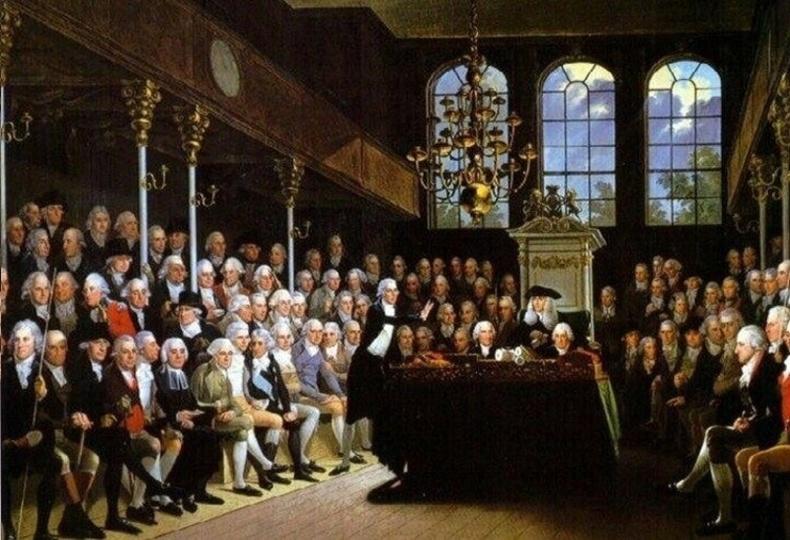 1720 оны эдийн засгийн хямралын үед Британийн парламент банкируудыг могойгоор дүүрэн шуудайнд хийж Темза руу хаях туха зөвлөлджээ