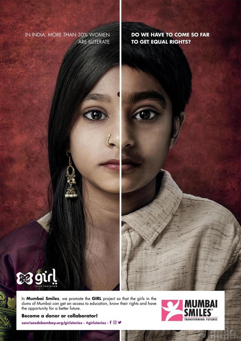 Энэтхэг эмэгтэйчүүдийн 30 хувь нь бичиг үсэгт тайлагдаагүй. Тэгэхээр хүйсийн тэгш байдлыг хангах тухай ингэж яриад хэрэг байна уу?