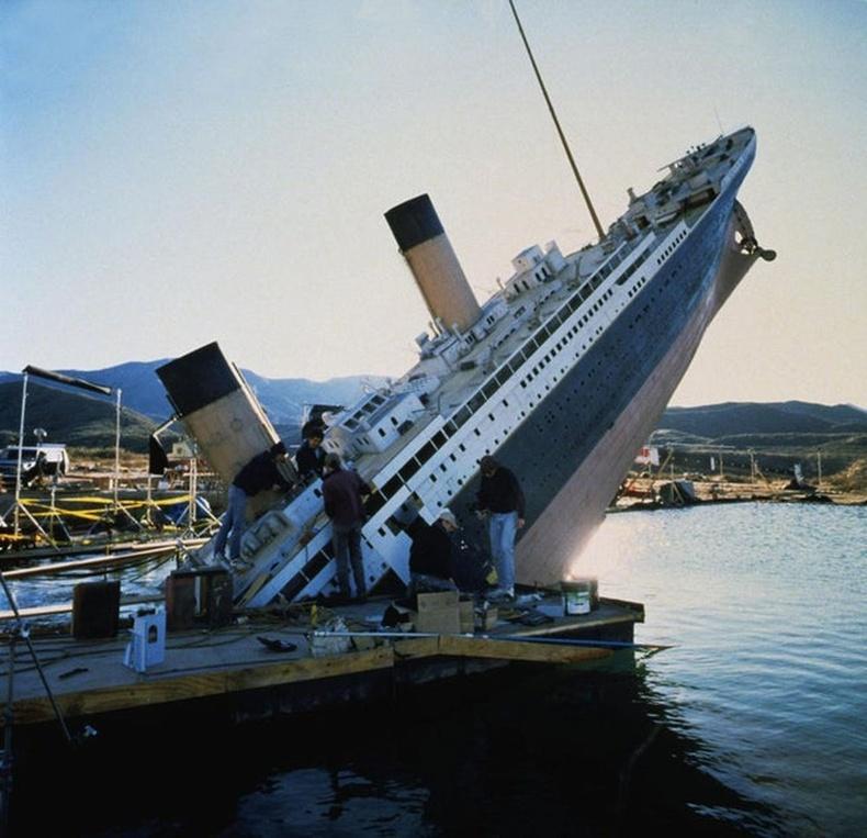 Титаник хөлгийн модель