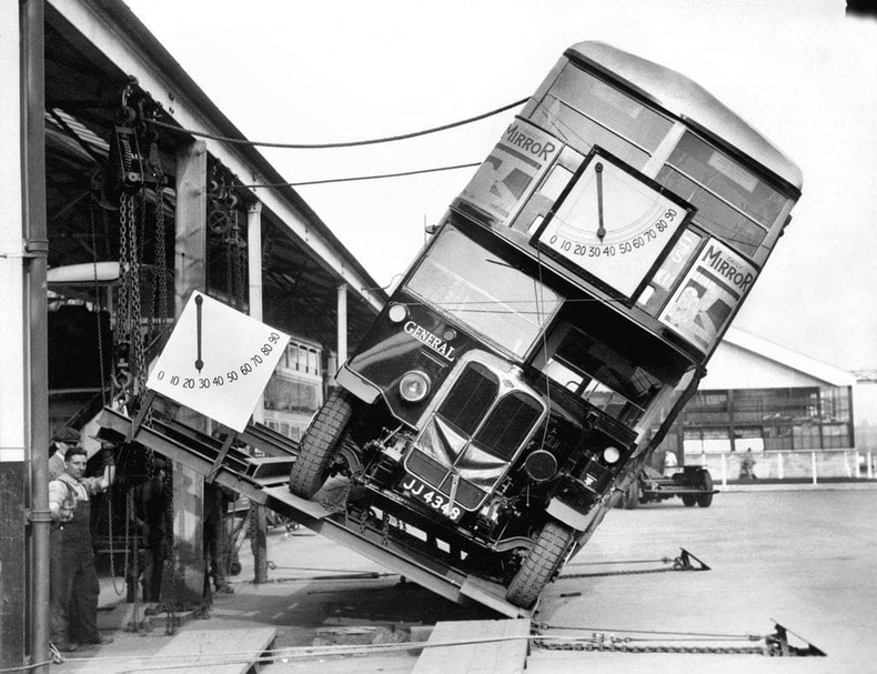 Хоёр давхар автобусын унах эрсдэлийг тооцоолж байгаа нь