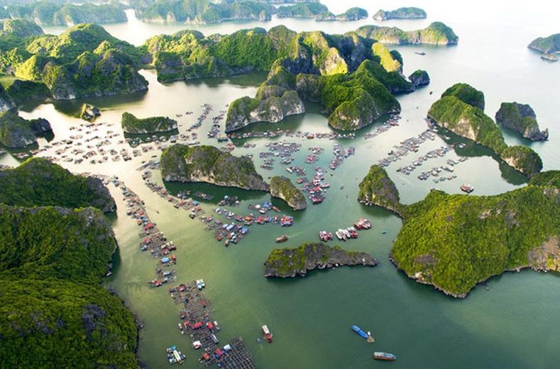 Халонг булан, Вьетнам