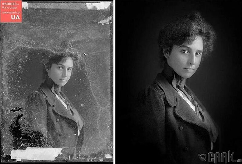 Үл таних эмэгтэй, 1880-аад он