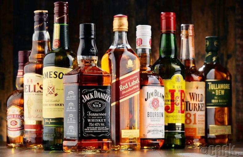 Архи, согтууруулах төрлийн ундаа