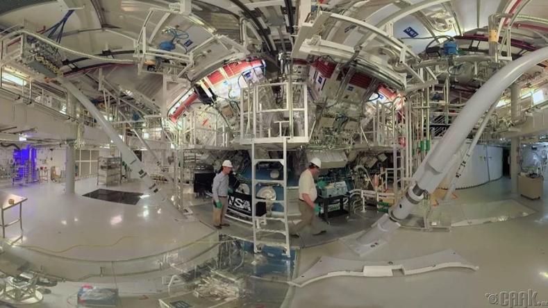 """National Ignition Facility"" лазерын байгууламж"