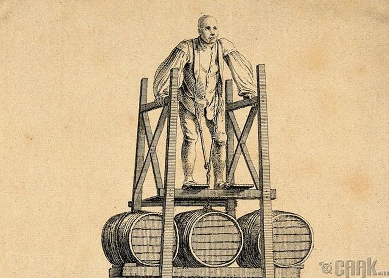 XVIII зууны хүчтэн Томас Топхам