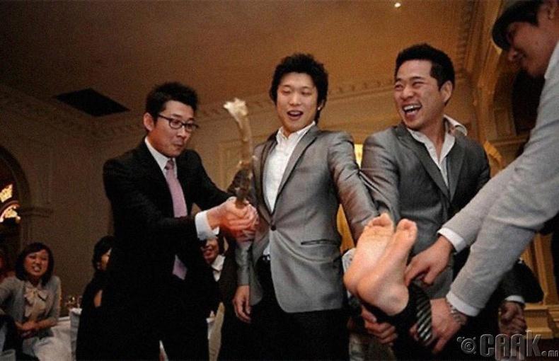 Хөлийн улыг нь шавхуурдах ёслол - Өмнөд Солонгос