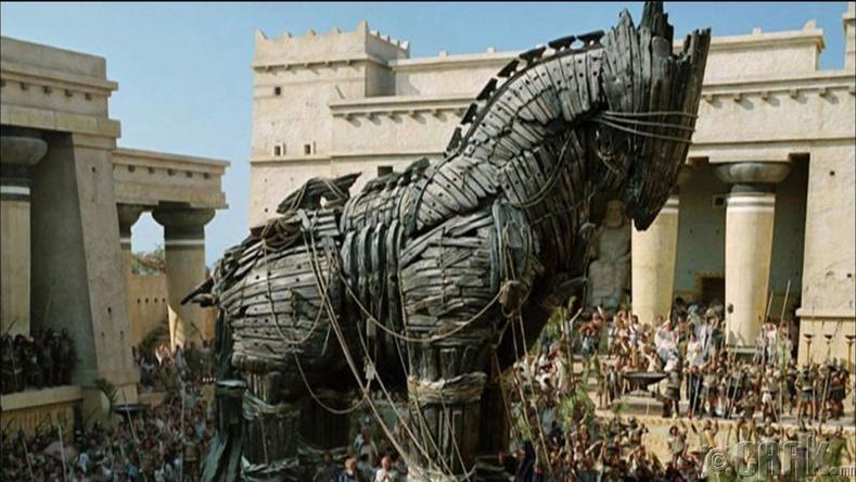 Грекчүүд Троя-ийг эзлэн авахын тулд Трояны морийг хийсэн