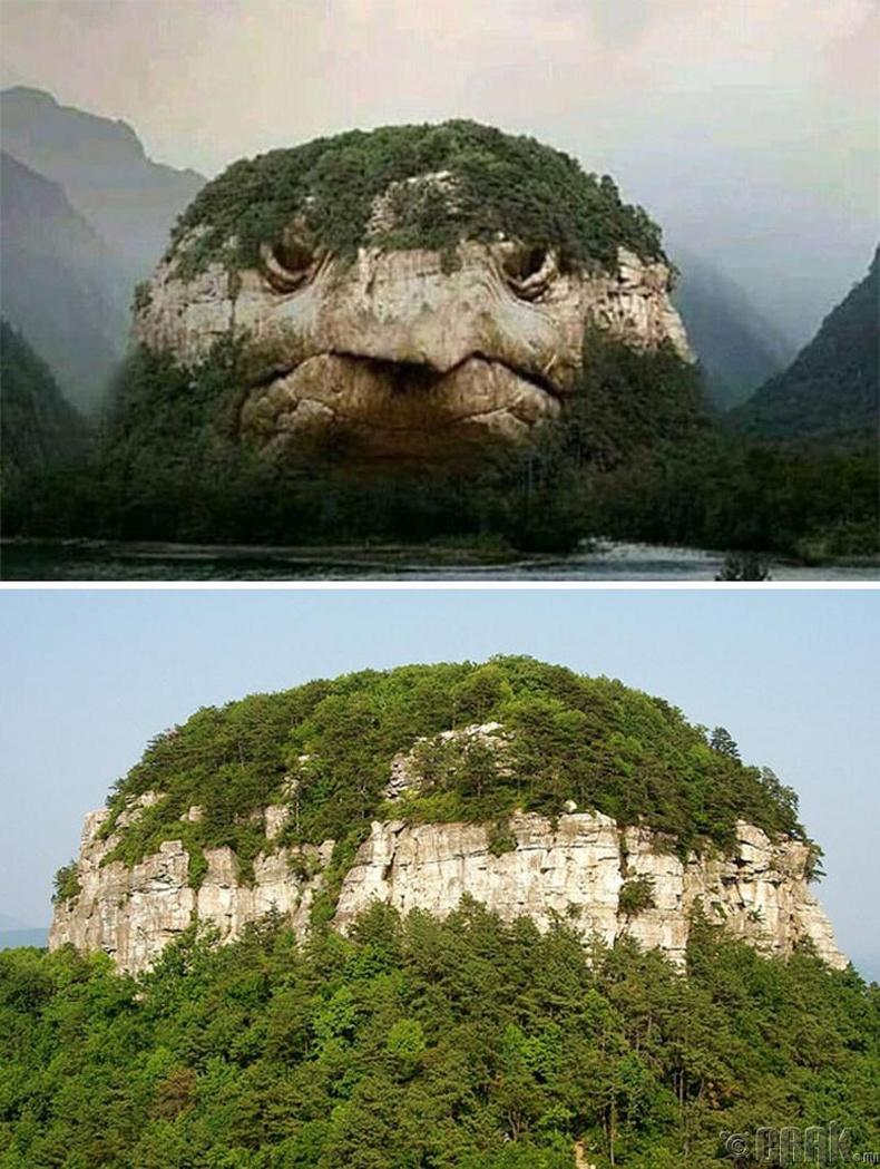 Мөн яст мэлхий шиг царайтай уул ч гэж байхгүй