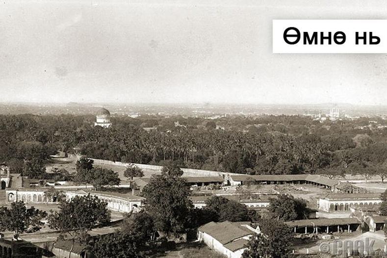Энэтхэгийн Хиидерабад хот - 1880 он