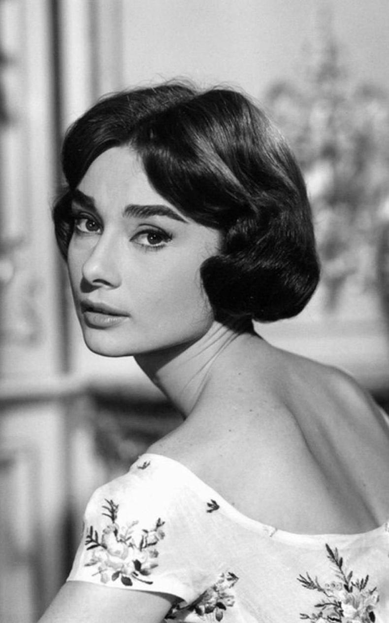 Одри Хепберн, 1957 он.