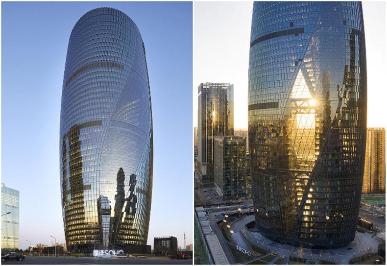 """""""Zaha Hadid Architects""""-ийн """"Leeza Soho"""" цамхаг (Бээжин, Хятад)"""
