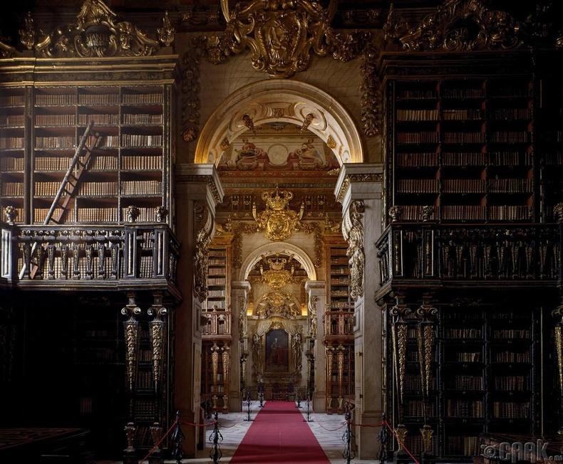 Жоанины номын сан, Коимбра, Португал