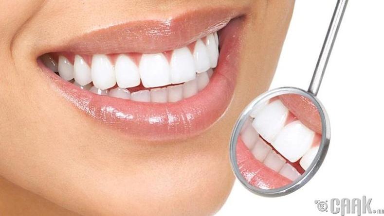 Шүдний пааланг цэвэрлэж, буйлыг бэхжүүлнэ