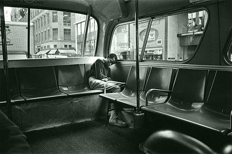 Автобусны цорын ганц зорчигч. Америк, 1969