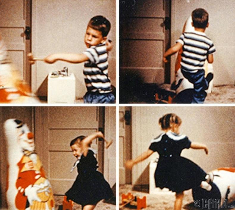 Хүүхдүүд томчуудын үйл хөдлөлийг шууд дуурайдаг