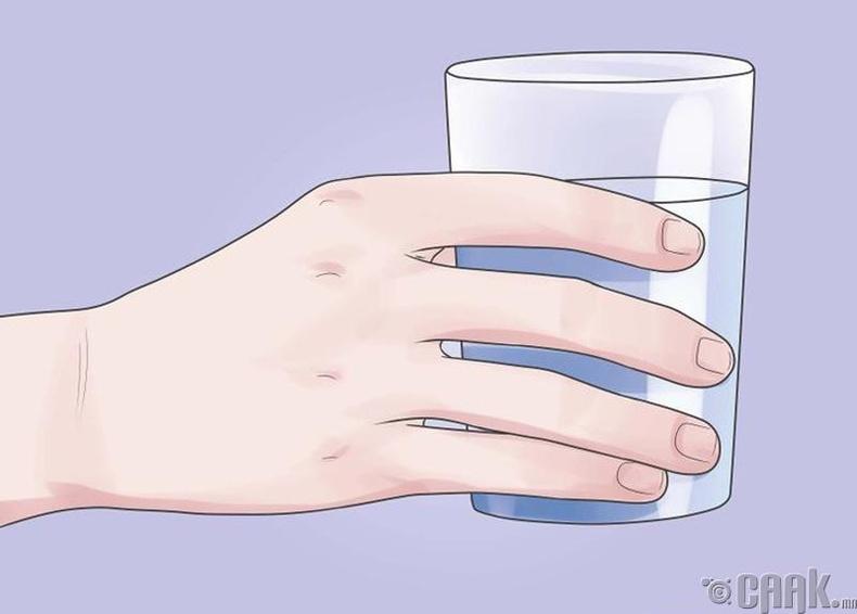 Хийжүүлсэн ундаа уух