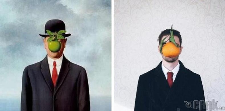 """Рене Магритта (Rene Magritte) """"Хүний хүү"""""""