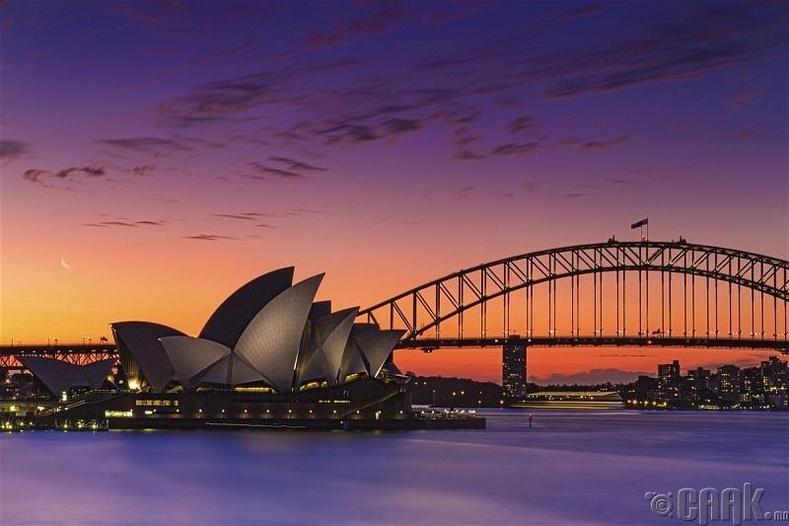 Австралийн нийслэл Сидней - Худал