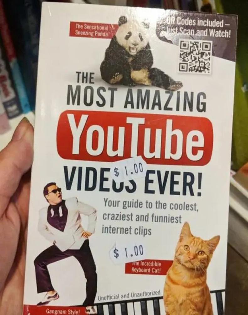 Ном бол ертөнцийг харах цонх мөн. Найздаа Youtube-ийн хамгийн гайхалтай бичлэгүүдийн талаарх ном бэлэглээрэй