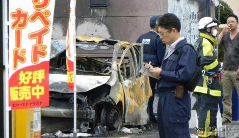 Японд амиа золиослогч бөмбөг дэлбэлжээ