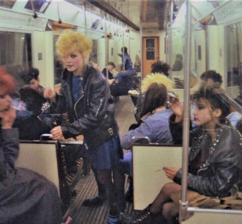 Панк охид, Лондон, 1983 он.