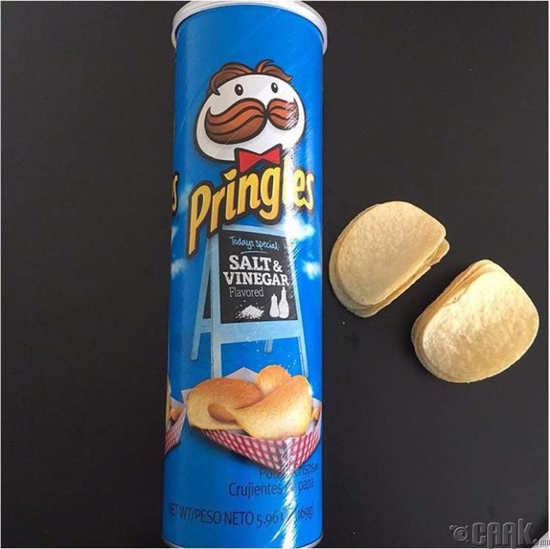 "Давс болон цууны амттай ""Pringles"""