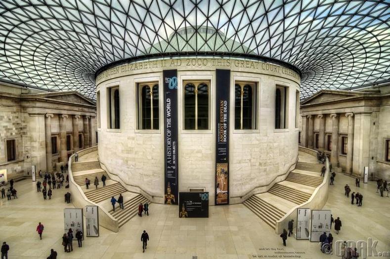 Английн музей, Лондон хот