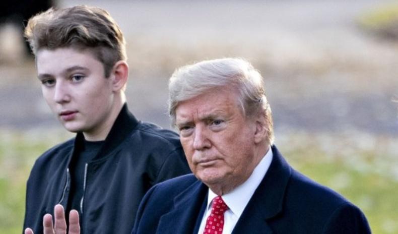 """Дональд Трампын """"аварга биет"""" хүүтэй танилц!"""