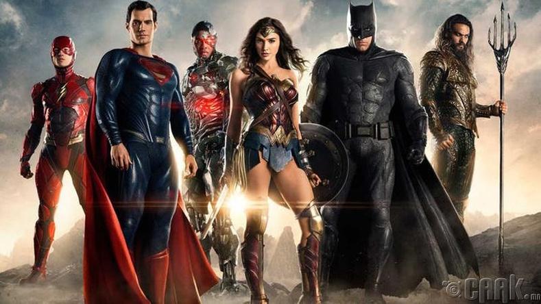 """DC""-ийн дүрүүд илүү алдартай"