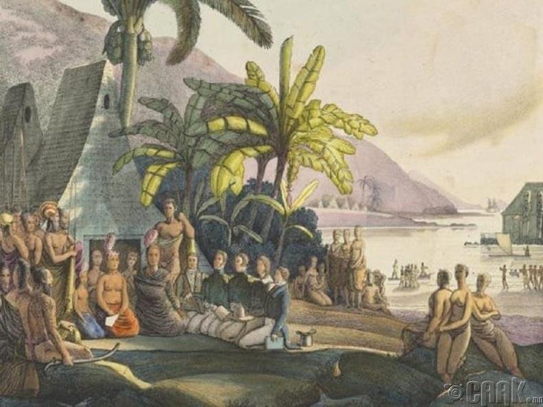 Полинезийн арал